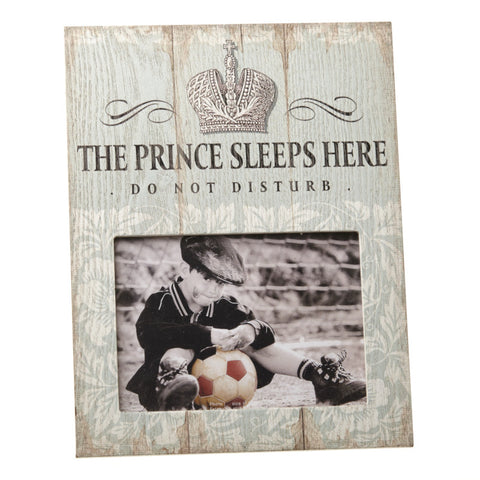 The Prince Sleeps Here - Photo Frame - giftpunk.com