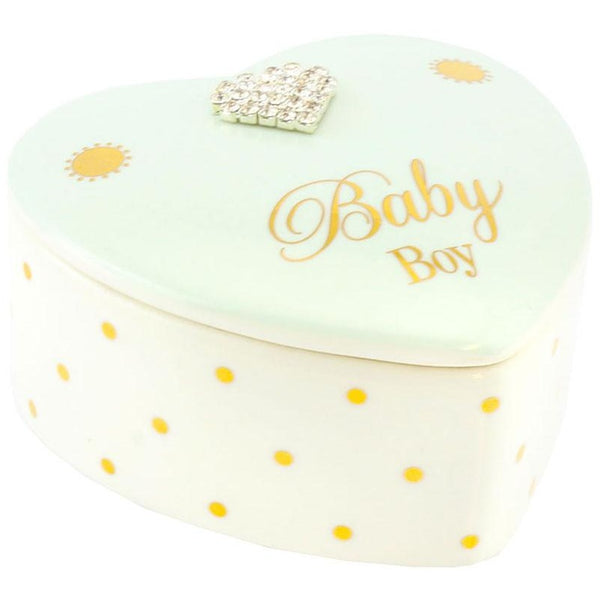 Baby Boy - Mad Dots Keepsakes Box - giftpunk.com
