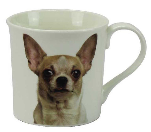 Chihuahua China Mug | kitchenware | Affordable gifts for him for her giftpunk.com - FREE UK delivery