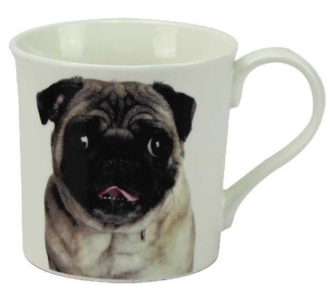 Pug China Mug | kitchenware | Affordable gifts for him for her giftpunk.com - FREE UK delivery