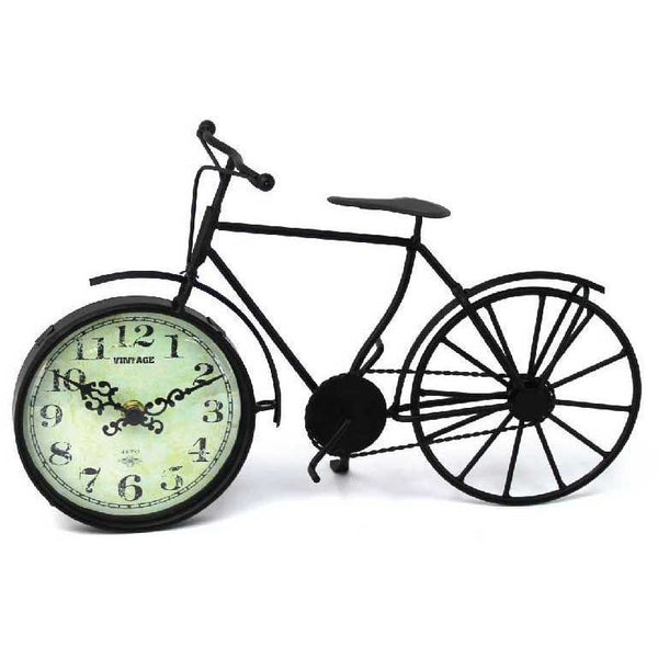 Bike Clock - Black - giftpunk.com