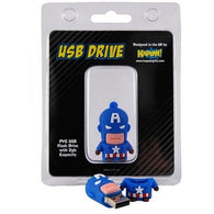 Captain America USB Flash Drive | gadgets | Affordable gifts for him for her at giftpunk.com - FREE delivery