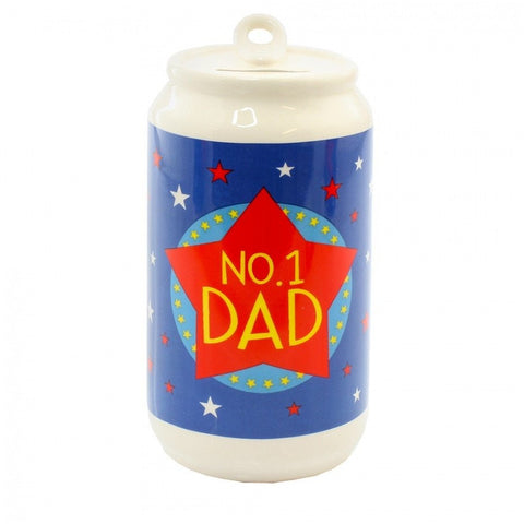 No.1 Dad Beer Can - Money Box - giftpunk.com