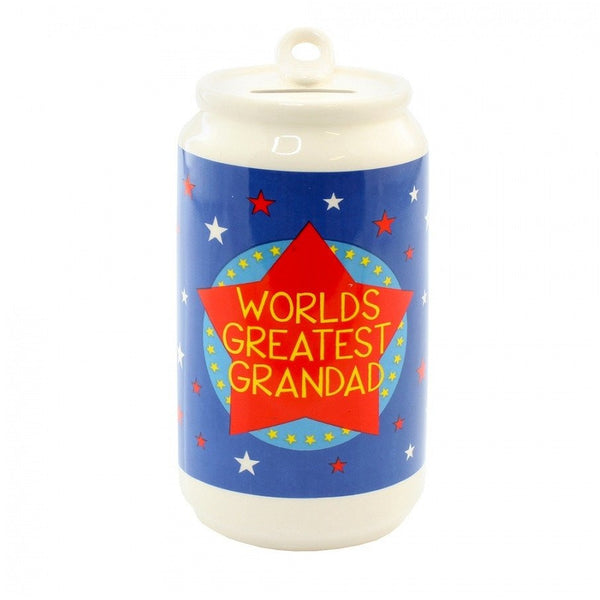 Worlds Greatest Grandad Beer Can - Money Box - giftpunk.com