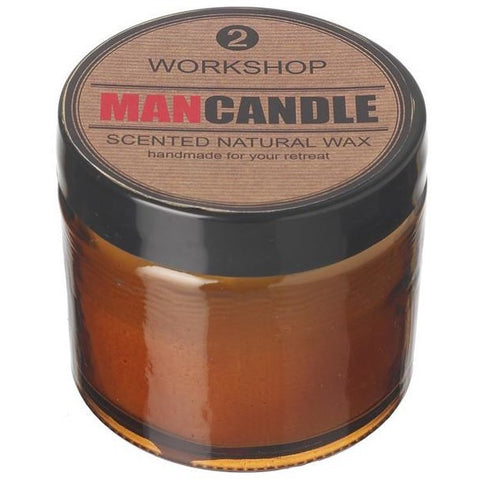 Man Candle - Workshop, Bachelor Pad, Lads Room, My Shed, The Den | candles | Affordable gifts for him for her at giftpunk.com - FREE delivery