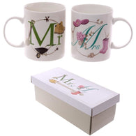 Mr & Mrs - Mug Set - giftpunk.com