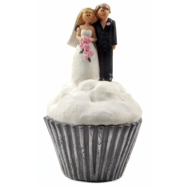 Bride & Groom Cup Cake - Ornament - giftpunk.com