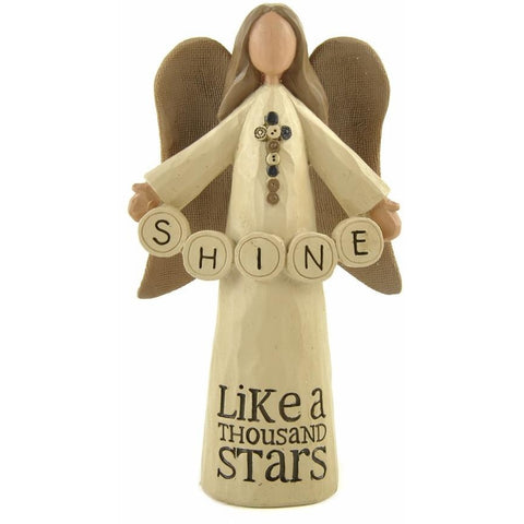 Shine, Like a Thousand Stars - Angel Ornament - giftpunk.com