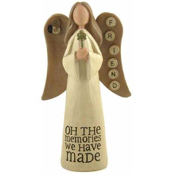 Friend, Oh the memories we have made - Angel Ornament - giftpunk.com