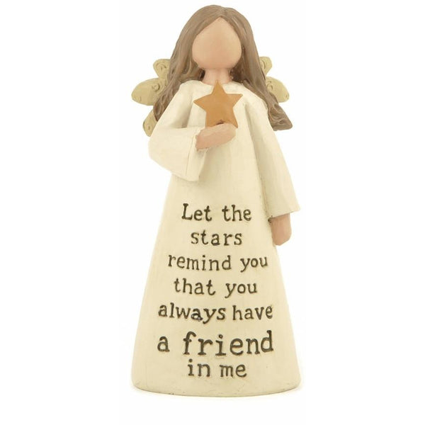 Let the Stars remind you that you always have a friend in me - Angel Ornament - giftpunk.com