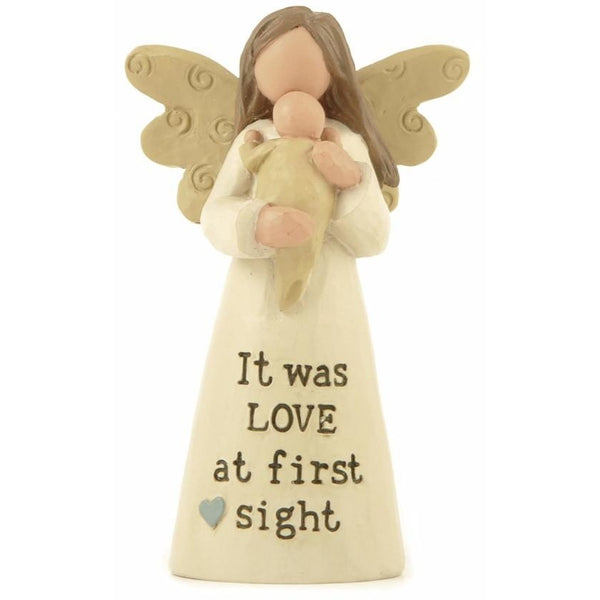 It was love at first sight - Angel Ornament - giftpunk.com