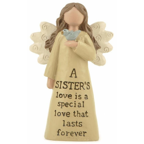 A sister's love is a special love that lasts forever - Angel Ornament - giftpunk.com