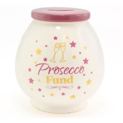 Prosecco Fund - Money Box | money box | Affordable gifts for him for her at giftpunk.com - FREE delivery
