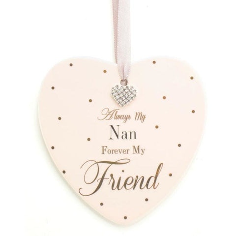 Always My Nan, Forever My Friend - Mad Dots Sign - giftpunk.com