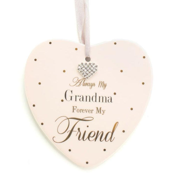 Always My Grandma, Forever My Friend. - Mad Dots Sign - giftpunk.com
