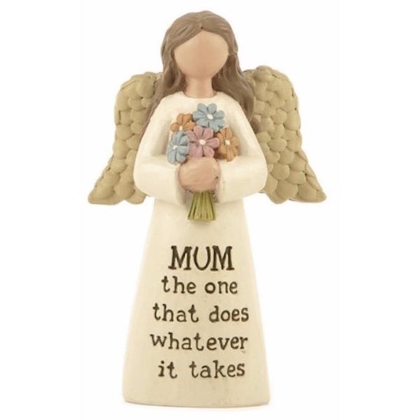 Mum the one that does whatever it takes - Angel Ornament - giftpunk.com