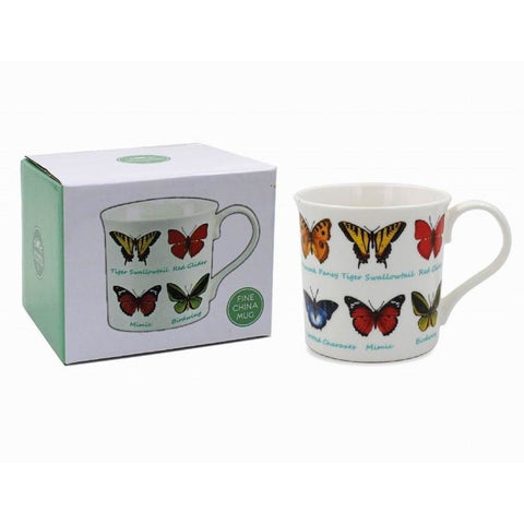 Butterflies - Mug | kitchenware | Affordable gifts for him for her at giftpunk.com - FREE delivery