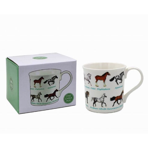 Horses - Mug | kitchenware | Affordable gifts for him for her at giftpunk.com - FREE delivery