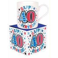 40th Birthday Mug