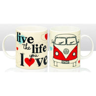 VW Volkswagen - Camper Van Mugs | kitchenware | Affordable gifts for him for her at giftpunk.com - FREE delivery