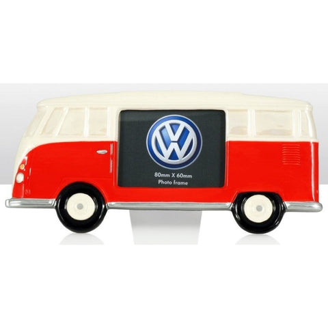VW Volkswagen Camper Van - Ceramic Photo Frames | frames & wall art | Affordable gifts for him for her at giftpunk.com - FREE delivery
