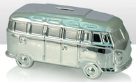VW Volkswagen Camper Van - Ceramic Money Box - Silver | money box | Affordable gifts for him for her giftpunk.com - FREE UK delivery