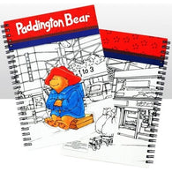 Paddington Bear - Traditional Cut Out Notebook | stationary | Affordable gifts for him for her at giftpunk.com - FREE delivery