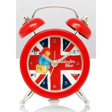Paddington Bear - Cool Britannia Mini Alarm Clock | clocks | Affordable gifts for him for her at giftpunk.com - FREE delivery
