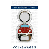 VW - Beetle Metal Bottle Opener Keyring | accessory | Affordable gifts for him for her at giftpunk.com - FREE delivery