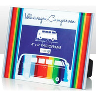 VW Volkswagen Camper Van - Glass Photo Frames | frames & wall art | Affordable gifts for him for her at giftpunk.com - FREE delivery