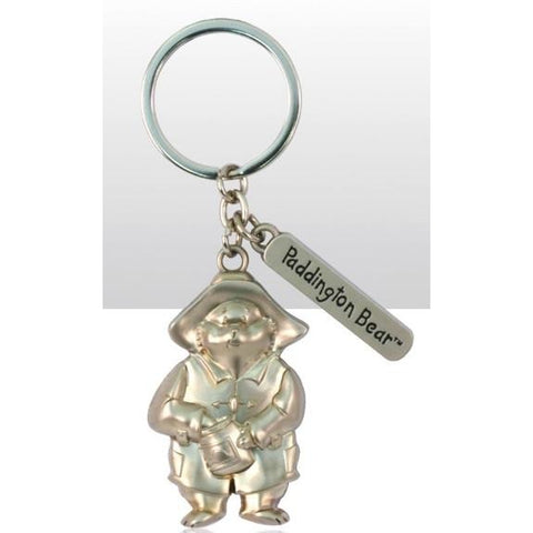 Paddington Bear - Traditional Metal Embossed Keyring | accessory | Affordable gifts for him for her at giftpunk.com - FREE delivery