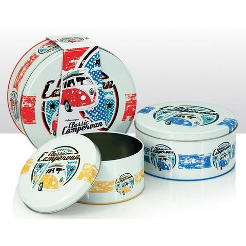 VW Volkswagen Camper Van - Classic 3 Cake Tin Set | kitchenware | Affordable gifts for him for her at giftpunk.com - FREE delivery