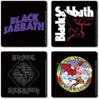Black Sabbath - Coaster Set | kitchenware | Affordable gifts for him for her at giftpunk.com - FREE delivery