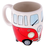 Camper Van Shaped Ceramic Mug | kitchenware | Affordable gifts for him for her giftpunk.com - FREE UK delivery