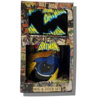 Batman - Mug & Sock Gift Set | kitchenware | Affordable gifts for him for her at giftpunk.com - FREE delivery