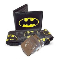Batman - Belt & Wallet Gift Set