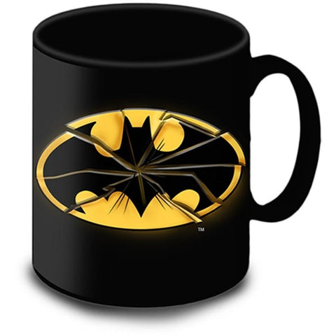 Batman Smashed Logo Giant Mug | kitchenware | Affordable gifts for him for her at giftpunk.com - FREE delivery
