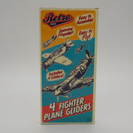 4 Fighter Plane Gliders - Retro Toys | toys | Affordable gifts for him for her at giftpunk.com - FREE delivery