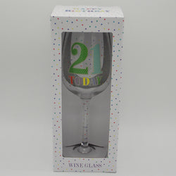 21 Today Wine Glass | kitchenware | Affordable gifts for him for her at giftpunk.com - FREE delivery
