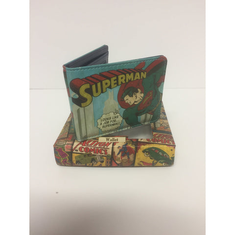 Superman Vintage - Wallet | accessory | Affordable gifts for him for her at giftpunk.com - FREE delivery