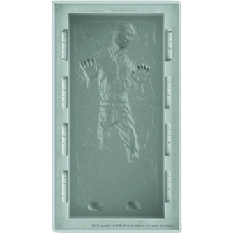 Han Solo in Carbonite - Silicone Tray (Large)
