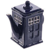Police Box Shaped Teapot, Shaped Ceramic Mug | kitchenware | Affordable gifts for him for her at giftpunk.com - FREE delivery