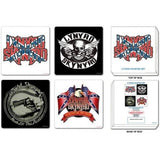 Lynyrd Skynyrd - Coaster Set | kitchenware | Affordable gifts for him for her at giftpunk.com - FREE delivery