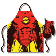 Iron Man - Apron & Oven Glove Set | kitchenware | Affordable gifts for him for her at giftpunk.com - FREE delivery