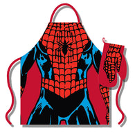 Spiderman - Apron & Oven Glove Set | kitchenware | Affordable gifts for him for her at giftpunk.com - FREE delivery