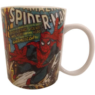 Spiderman - Comic Book Mug | kitchenware | Affordable gifts for him for her at giftpunk.com - FREE delivery