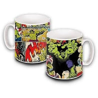 Incredible Hulk - Comic Book Mug | kitchenware | Affordable gifts for him for her at giftpunk.com - FREE delivery