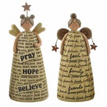 Faith, Family, Friends, Pray, Hope, Believe - Angel Ornaments | collectables | Affordable gifts for him for her at giftpunk.com - FREE delivery