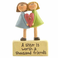 A Sister is worth a thousand friends - Ornament