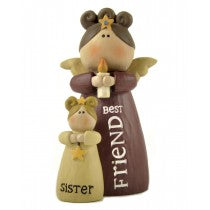 Sister Best Friend - Angel Ornament | collectables | Affordable gifts for him for her at giftpunk.com - FREE delivery